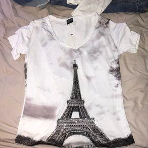 Tops - Eiffel Tower T-shirt